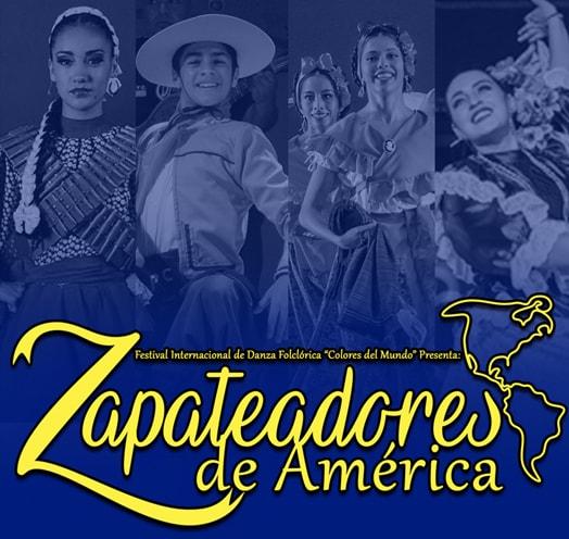 COLORES DEL MUNDO: ZAPATEADORES DE AMÉRICA.
