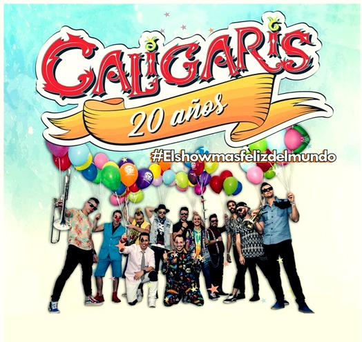 LOS CALIGARIS 20 AÑOS