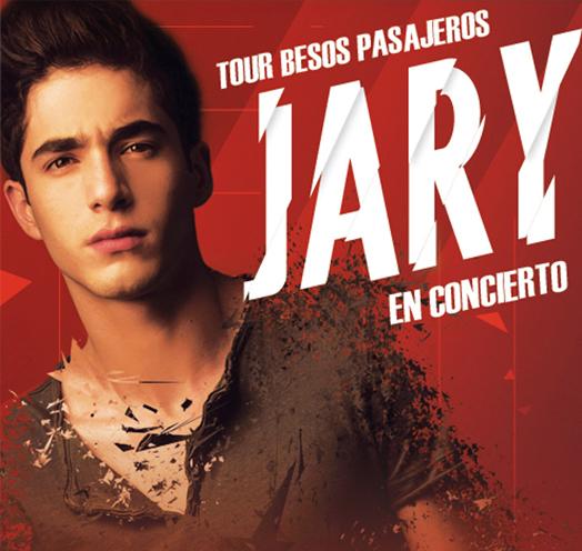JARY EN CONCIERTO. TOUR BESOS PASAJEROS