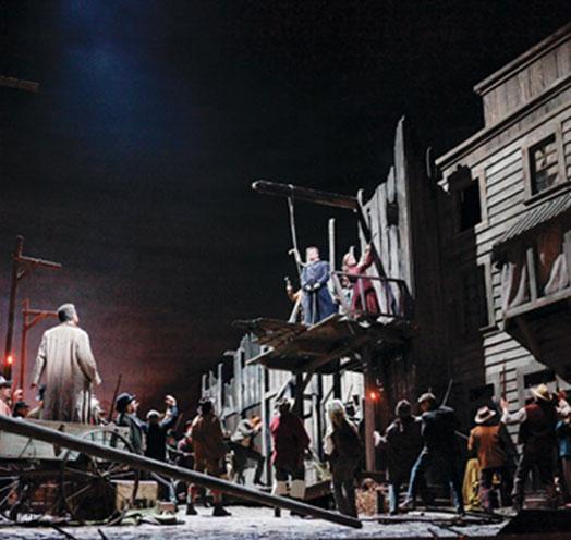 En vivo desde el MET de NY presenta:LA FANCIULLA DEL WEST DE GIACOMO PUCCINI
