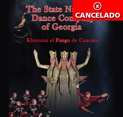 COMPAÑÍA NACIONAL DE DANZA DE GEORGIA: KHORUMIEL FUEGO DEL CÁUCASO
