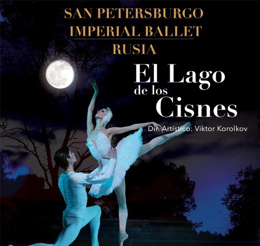 """""""LAGO DE LOS CISNES"""" SAN PETERSBURGO IMPERIAL BALLET"""