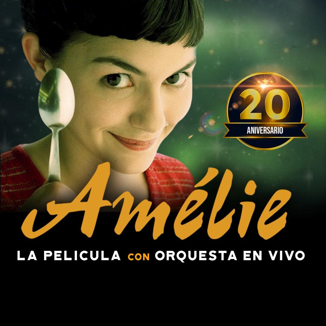 AMELIE, LA PELÍCULA CON ORQUESTA EN VIVO