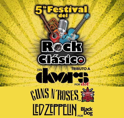 QUINTO FESTIVAL DE ROCK CLÁSICO