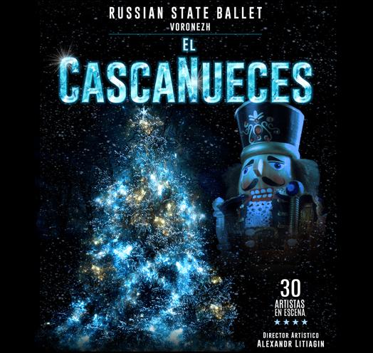 RUSSIAN STATE BALLET VORONEZH PRESENTA EL CASCANUECES