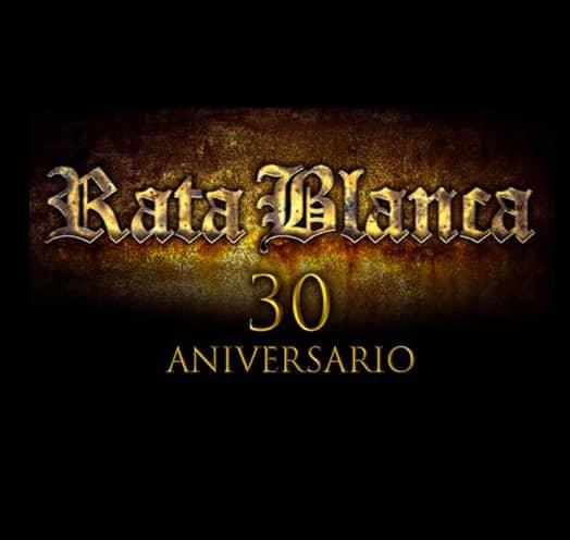 RATA BLANCA 30 ANIVERSARIO