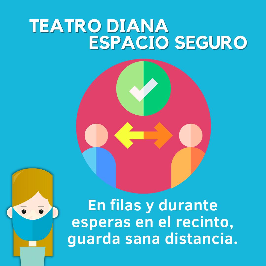 Teatro Diana protocolo COVID
